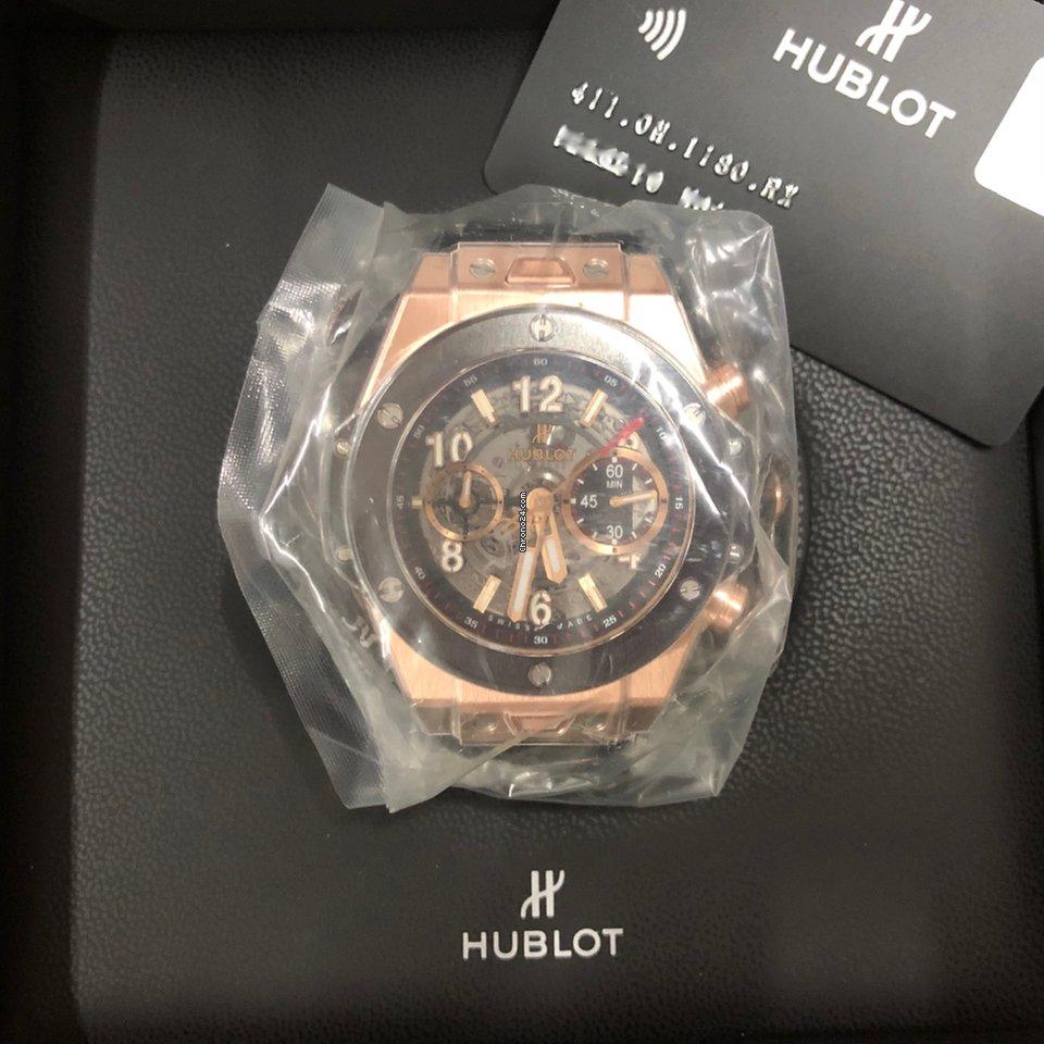 Hublot Big Bang Unico 411.OM.1180.RX new