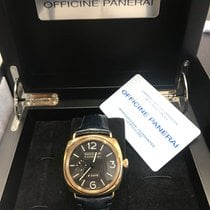 Panerai Radiomir 8 Days Roséguld 45mm Svart Arabiska Sverige, Gothenburg
