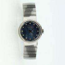 Dior 25mmmm Quartz pre-owned Blue