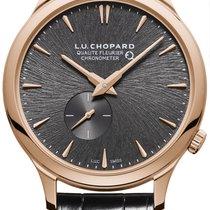 Chopard Rose gold Automatic Grey 40mm new L.U.C