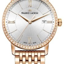 Maurice Lacroix Rose gold 30mm Quartz EL1094-PVPD6-112-1 new