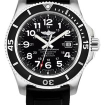 Breitling Superocean II 44 Steel 44mm Black United States of America, New York, New York