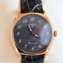 Junghans Rose gold Manual winding Grey Arabic numerals 40,4mm pre-owned