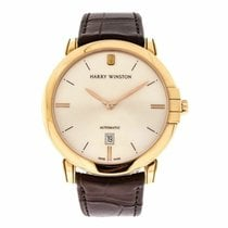 Harry Winston Rose gold 42mm Automatic MIDAHD42RR001 new