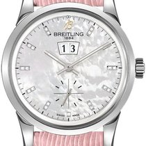 Breitling Transocean 38 Stahl 38mm