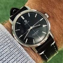 Omega Seamaster De Ville Black crosshair Don Draper mens watch