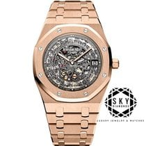 Audemars Piguet Royal Oak Selfwinding Rose gold 39mm Transparent United States of America, New York, NEW YORK