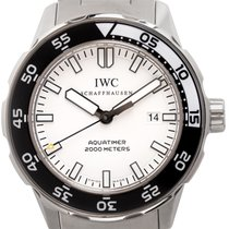 IWC Aquatimer Automatic 2000 Steel 45mm White