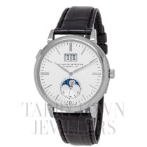 A. Lange & Söhne Saxonia White gold 40mm Silver United States of America, New York, Hartsdale