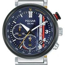 Pulsar Steel 43.5mm Chronograph new