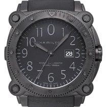 Hamilton H78585333 2020 Khaki Navy BeLOWZERO 46mm new