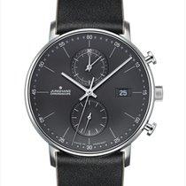 Junghans FORM C new 2019 Quartz Watch with original box and original papers 041/4876.00