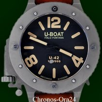 U-Boat U-42 Titanium 53mm Black