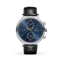 IWC Portofino Chronograph Steel 42mm Blue United States of America, Iowa, Des Moines