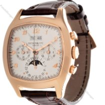 Patek Philippe Perpetual Calendar Chronograph new 1995 Manual winding Chronograph Watch with original box and original papers 5020R