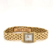 Longines DolceVita Longines Dolce Vita ladies yellow gold and diamonds 2002 pre-owned