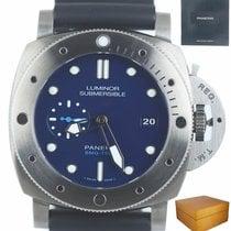 Panerai Luminor Submersible Titanium 47mm Blue