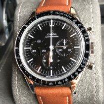 Omega Speedmaster Professional Moonwatch Stahl Schwarz Keine Ziffern
