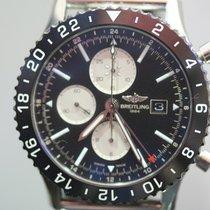 Breitling Chronoliner Steel 46mm Black No numerals