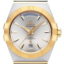 Omega Constellation Day-Date neu 38,00mm Gold/Stahl