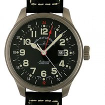 Zeno-Watch Basel Oversized Pilot Automatic GMT 48mm