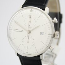 Junghans max bill Chronoscope new 2019 Automatic Watch with original box and original papers 027/4600.00