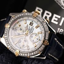 Breitling Crosswind Racing Gold/Steel 43mm Mother of pearl No numerals United States of America, New York, New York