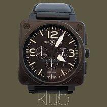 Bell & Ross BR 01-94 Chronographe Otel 46mm Negru Arabic