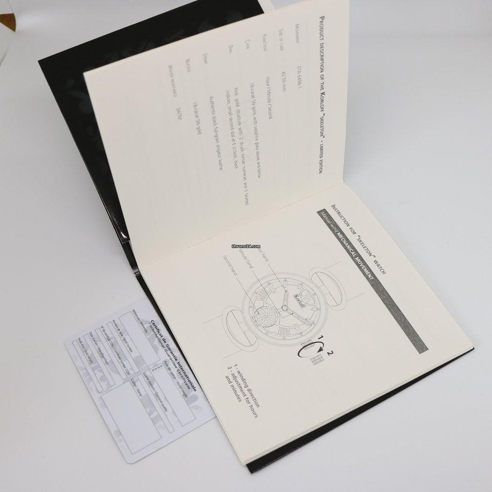 Korloff K2014 Skeleton limited Edition