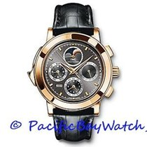 IWC Grande Complication Rose gold 42mm Black