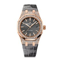 Audemars Piguet Royal Oak Lady Full Diamonds Rose Gold 37mm