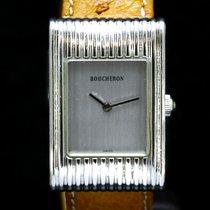 Boucheron 22mm Quartz tweedehands Reflet Zilver