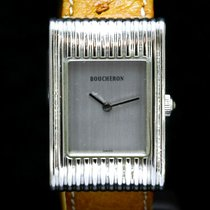 Boucheron Steel 22mm Quartz AI 401182 pre-owned
