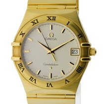 Omega Constellation 33.5mm Quartz 18k Gold