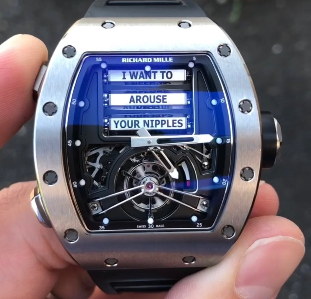 Richard Mille Rm 69 Tourbillon Erotic