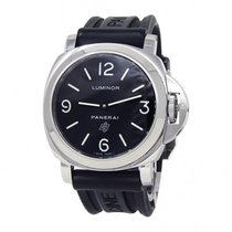 Panerai Luminor Base Logo Steel 44mm Black United States of America, New York, New York