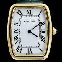 Cartier gebraucht Handaufzug 26mm Weiß Mineralglas