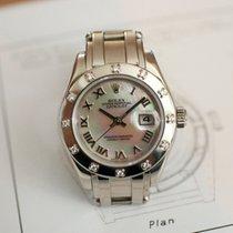 Rolex Lady-Datejust Pearlmaster MOP Pearl Diamonds 80319