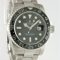 Rolex Chronometer 40mm Automatik 2007 gebraucht GMT-Master II Schwarz
