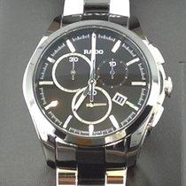 Rado Chronograaf 47mm Quartz nieuw HyperChrome Chronograph Zwart