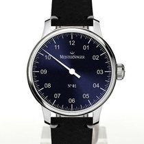 Meistersinger Steel 40mm Manual winding N° 01 new