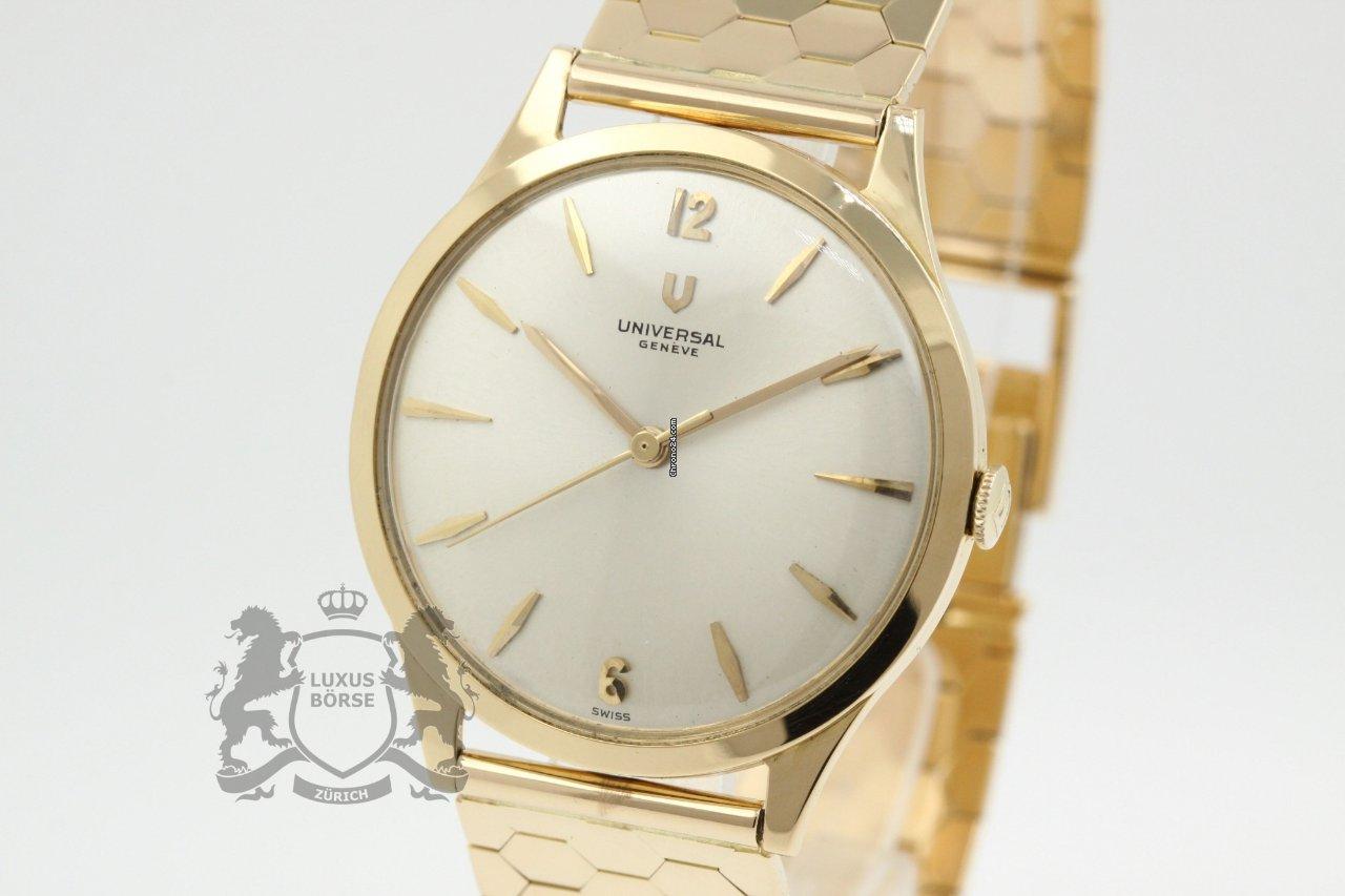 Золотые часы женева 750 пробы для