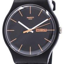 Swatch Tworzywo sztuczne 42.7mm Kwarcowy SUOB704 nowość