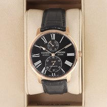 Ulysse Nardin Marine Torpilleur Rose gold 42mm Black United States of America, New York, Airmont