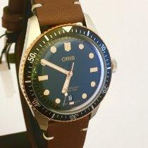 Oris Divers Sixty Five Stahl 40mm Grün