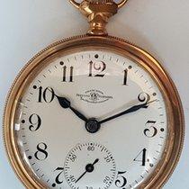 Ball Sat rabljen 1914 Zlato/Zeljezo 52mm Arapski brojevi Rucno navijanje Samo sat