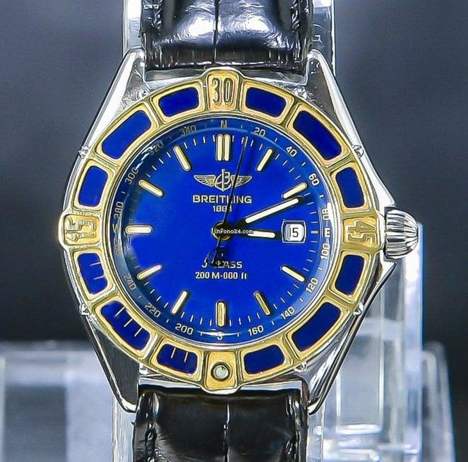 Top D52065 Blue Dial Condition Summer Super J Breitling Class fIY6gyvb7
