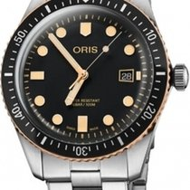 Oris Steel Automatic new Divers Sixty Five