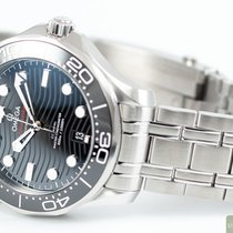 Omega Seamaster Diver 300 M Steel 42,00mm Black No numerals