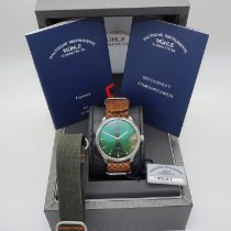 Mühle Glashütte Steel Automatic Green 40mm new
